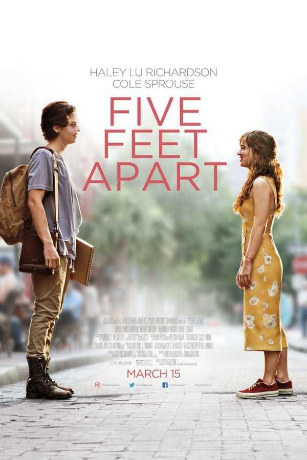 Senden Beş Adım Uzakta izle / Five Feet Apart